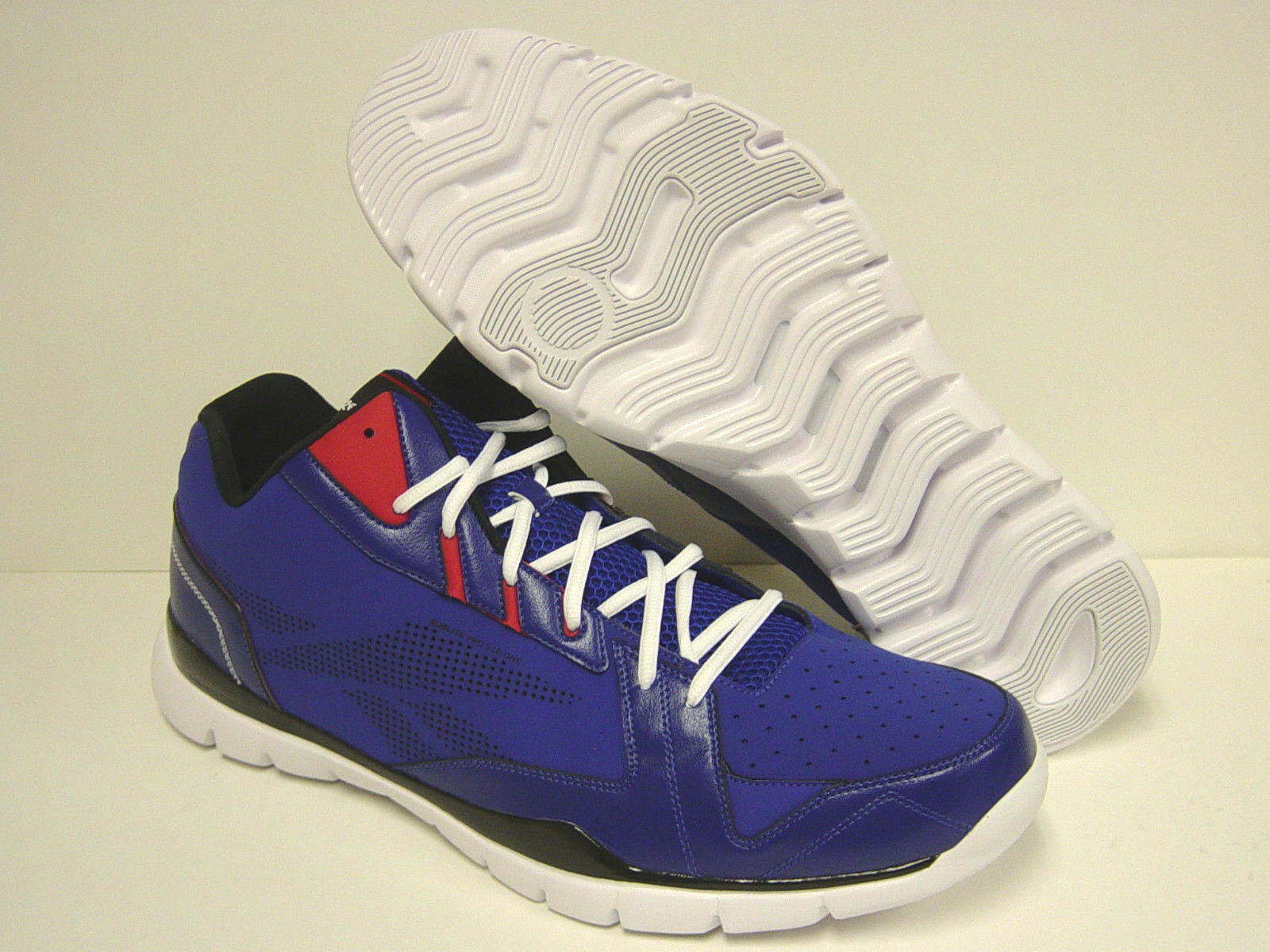 NEW Mens REEBOK SHOWDOWN SubLite VLP Rise Blue V44516 SAMPLE Sneakers Shoes