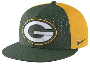 5cc677e69f5 Nike NFL Green Bay Packers NEW True Vapor Adjustable Hat 420707 One ...