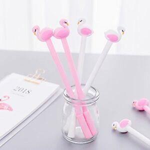 6Pcs Lovely Cute Cartoon Creative Rabbit EarBall Pen School Supplies Stationery