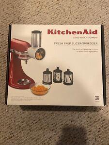 Brand-New-In-Box-KitchenAid-Fresh-Prep-Slicer-amp-Shredder-Attachment