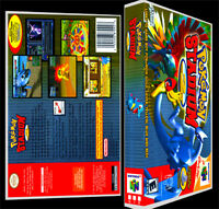 Pokemon Stadium 2 - N64 Reproduction Art Case/box No Game.