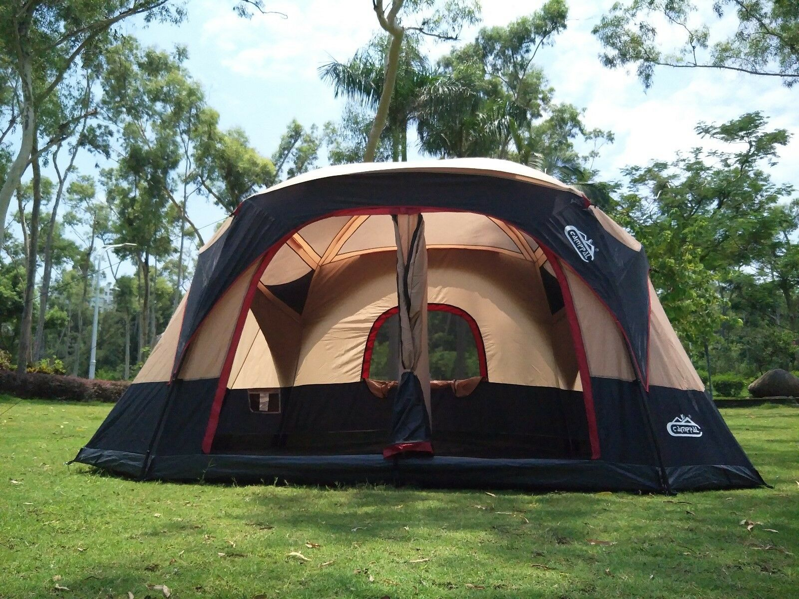Frame cabin big family tent for group and family outdoor camping(FT020)