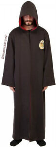"LICENSED HARRY POTTER ""HOGWARTS CREST"" HEAVY HOODED WINTER ROBE"