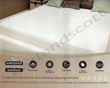 Single Size Mattress Protector Sheet Wet Matress Cover Waterproof Washable Gift