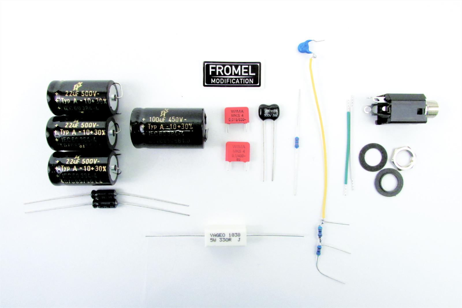 Fender Blaus Jr Junior Supreme Mod Kit - USA amps - by Fromel