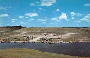 Jamestown-North-Dakota-Lakeside-Resort-Birdseye-View-Vintage-Postcard-K35274