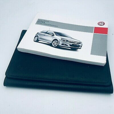 2006 Vauxhall Opel Astra Owner/'s Owner Manual Handbook Wallet Service Booklets