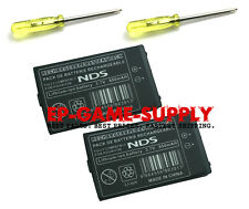 2X Rechargeable Battery Pack Replacement For Nintendo DS 850mAh 3.7V