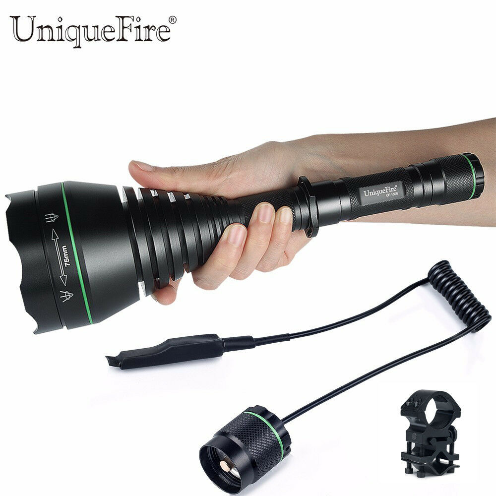 UniqueFire 1508 75mm Lens 850nm Zoomable Night Vision Flashlight +Rat  Tail+Mount  online shop