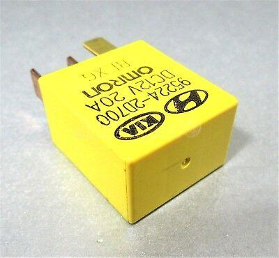 KIA PICANTO 04-11 MULTI-USE 4 PIN RELAY 95224-2D000