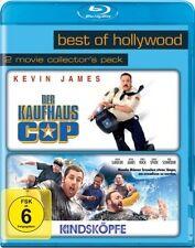 2 Filme Der Kaufhaus Cop + Kindsköpfe mit Kevin James, Adam Sandler BLU-RAY