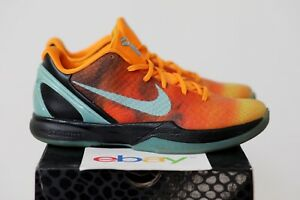 the best attitude a1f47 bccd4 Image is loading 2011-Nike-Zoom-Kobe-VI-All-Star-ORANGE-