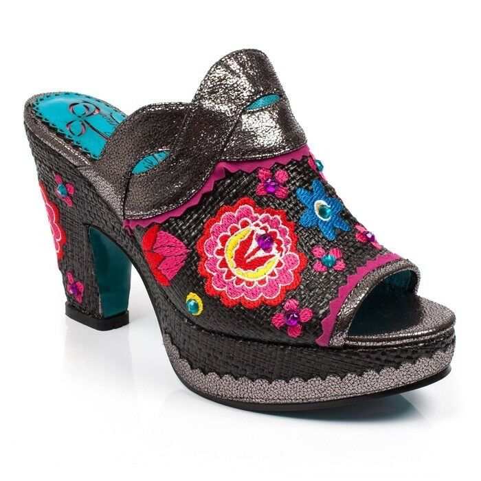 Poetic Licence By Irregular Choice 'Indian 'Indian Choice Summer' Schuhes Sandales RRp 4842e1