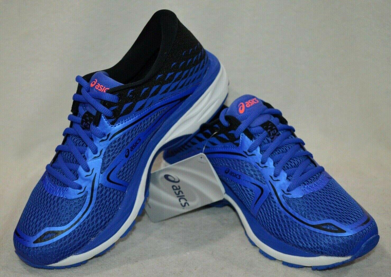 ASICS GEL-CUMULUS 19 blu viola nero Coral Wouomo Running scarpe-Dimensione 7.5 NWB