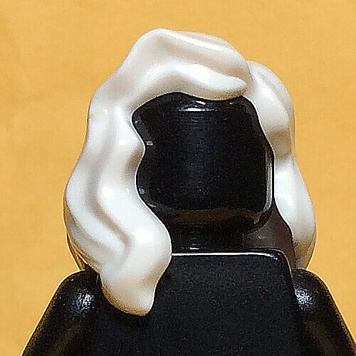 Mid Length Part White x 1 Figure Hair Storm 76022 Female NEW LEGO