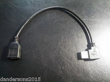 Right Angle USB 2.0 Extension Cable Adapter - 200mm Lead - 90 Degree R/A