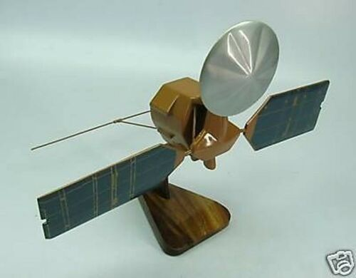 Mars Reconnaissance Orbiter NASA Spacecraft Mahogany Dried Wood Model Large New