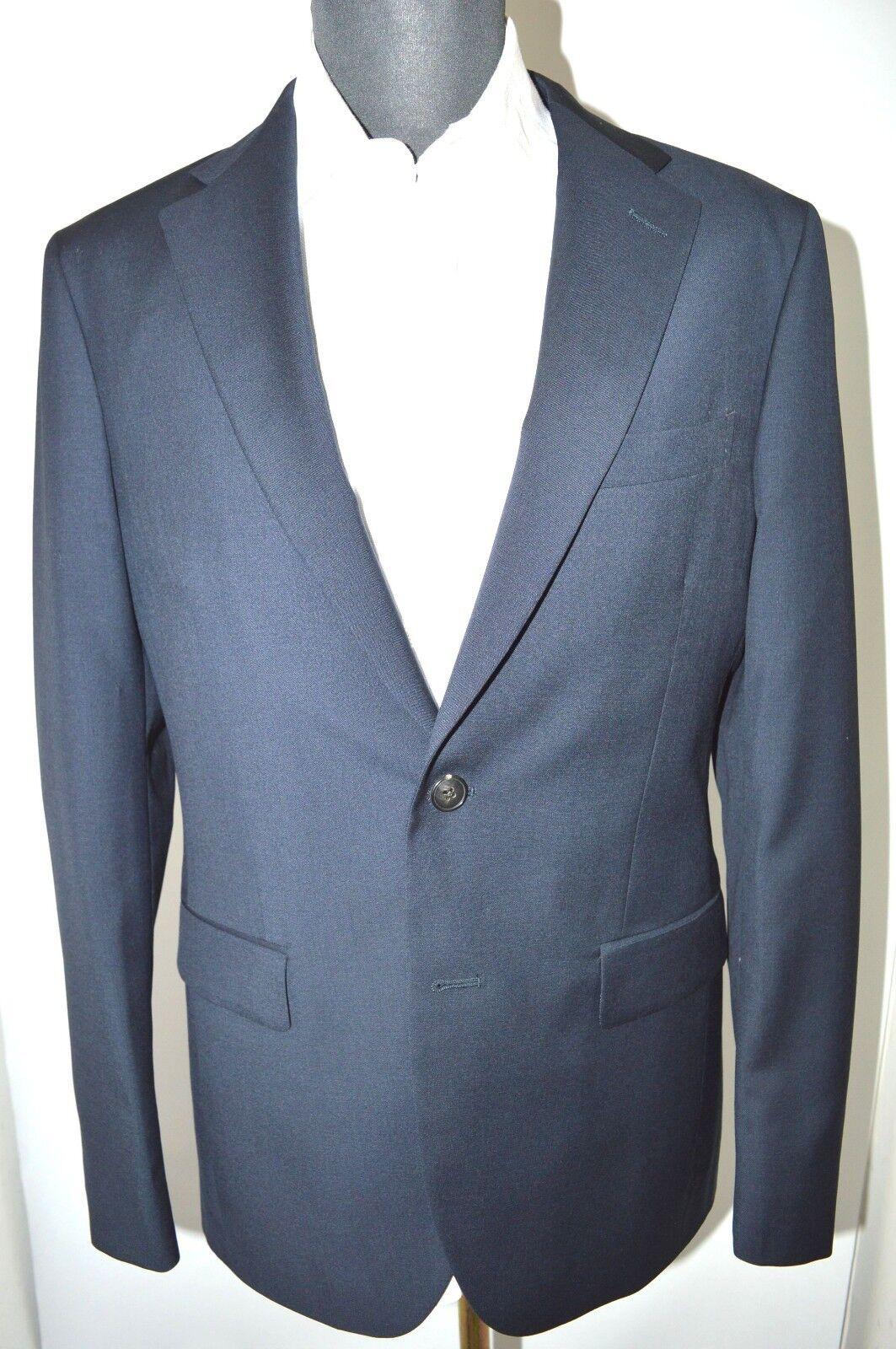 NEW BOGLIOLI Milano SFORZA Suit  100% Wool Größe 38 Us 48 Eu 2BTN (B2)
