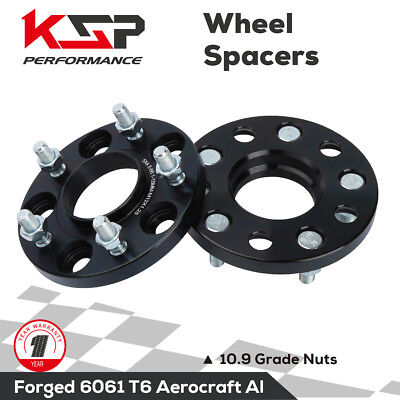 2pc Wheel Spacers Adapters 15mm Vehicle to 5x4.5 Wheel Bolt Patterns with M12 x 1.25 Threads Infiniti G35 G37 Nissan 240sx 350z 370z 300zx for 5x4.5 5x114.3 15 Millimeter