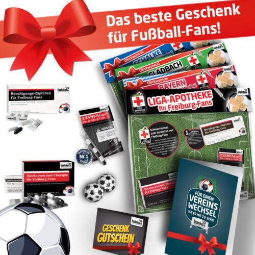 Fußball-Fanshop Geschenke für MännerBundesliga Notfall-SetDie Liga-Apotheke für Liga-Fans