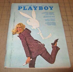 PLAYBOY-Mar-1969-GD-Condition-Magazine-Kathy-MacDonald-PMOTM-w-Vargas-Art