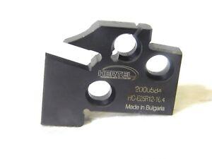 "New Hertel 331-101 RH Cut 1/"" Insert Width Cutoff /& Grooving Support Blade"