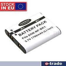 Formax Battery for Sony NP-BK1 DSC-W180 DCS-W190 S750 S780 S950 S980