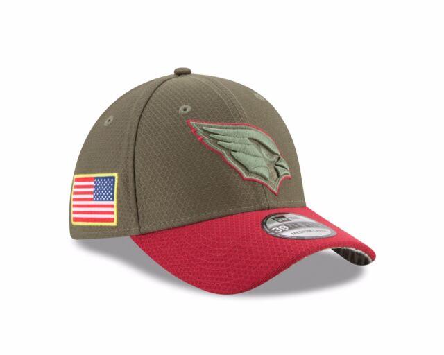 Arizona Cardinals New Era Salute To Service 39THIRTY Flex Hat – Olive 8644554f0