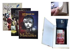 Real-Paper-Book-Stash-Safe-Key-Lock-Booksafe-Secret-Hidden-Safes-Jewellery-Box