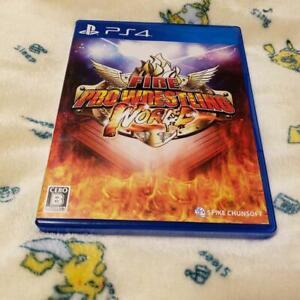 PS4-Fire-Pro-Wrestling-World-4940261515232-Japanese-version