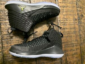 "f766403e845 Nike Air Jordan XXXII ""Black Cat"" MID (GS) YOUTH Sz 4Y AA1254-003 NO ..."