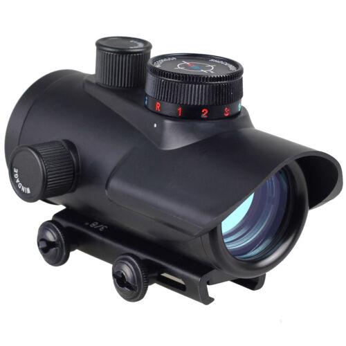 Red//Green//Blue Dot BSA 30mm rifle pistol Scope sight 20mm Weaver mount RD30