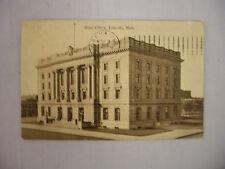 VINTAGE POSTCARD THE POST OFFICE IN LINCOLN NEBRASKA 1910