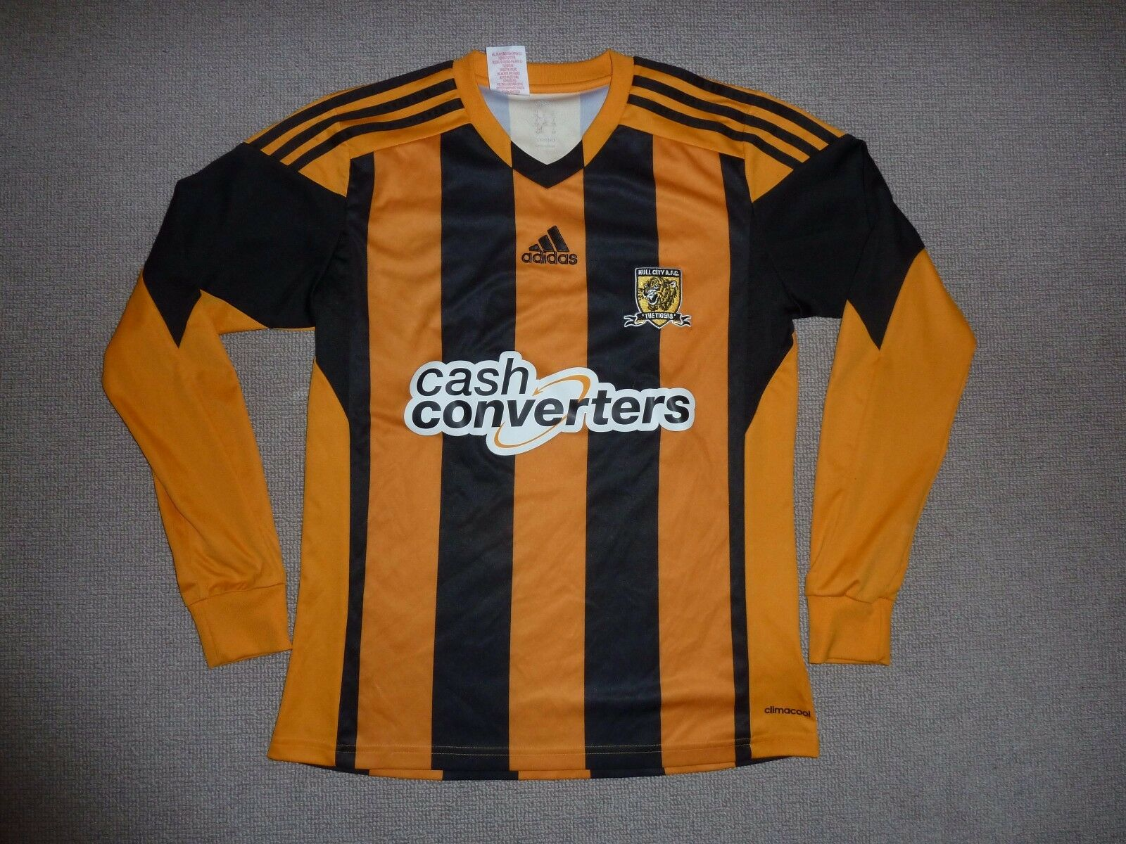 222925a69 HULL CITY football shirt XS soccer jersey YORKSHIRE away shirt maglia  maillot