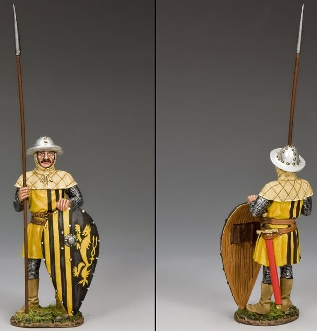 KING & COUNTRY ROBIN HOOD RH009 THE SHERIFF'S MAN AT ARMS MIB