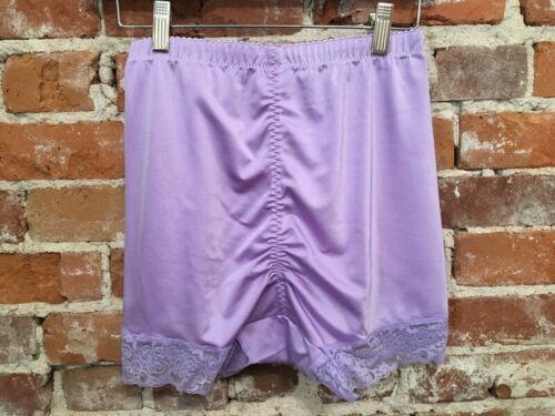 Rhonda Shear Lavender Mesh Dot Pin-Up Retro High Waist Panties New