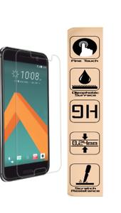 2x-9H-Schutzfolie-Handy-Cover-Panzerfolie-fuer-Original-HTC-10