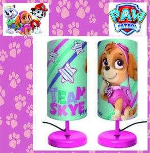 Paw Patrol Lampe Kinderlampe Schreibtischlampe Nachttischlampe Kinder Disney