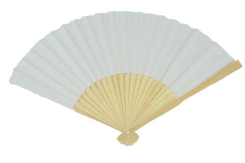 Vendeur Britannique Durable Portable tissu main pliant Fan Outdoor danse Bridals