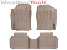 WeatherTech Floor Mats FloorLiner for Nissan Altima Sedan - 2014-2017 - Tan