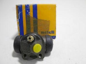 Cylinder Rear Brake Wheel Brake Metelli RENAULT 11 14