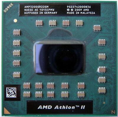 AMD Athlon II P320 CPU Processor AMP320SGR22GM 2.1 GHz 1600 MHz Socket S1