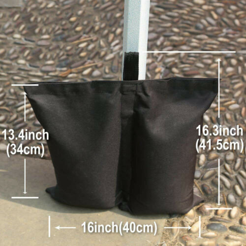 4pcs Canopy Leg Weights Sand Bags for Pop up Tent Outdoor Instant Patio Gazebo