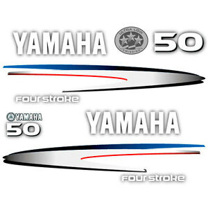 Image Is Loading Yamaha 50 Four Stroke Outboard 2002 2006 Decal