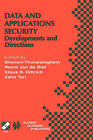 Data and Application Security: Developments and Directions by Kluwer Academic Publishers (Hardback, 2001)