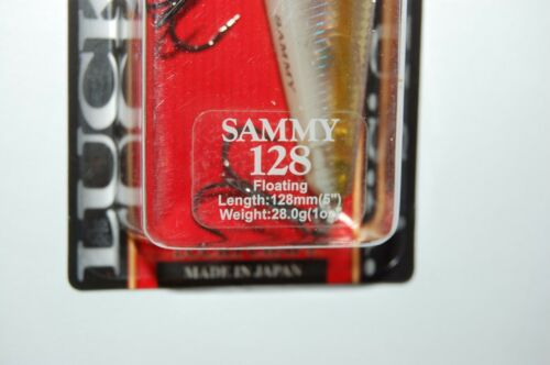 """lucky craft sammy 128 topwater lure 5/"""" 1oz floating ghost chartreuse shad"""