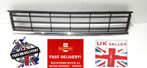 NUOVO PARAURTI ANTERIORE INFERIORE GRIGLIA VENT NERO//CROMATO VW Passat b7 11.2010 in poi