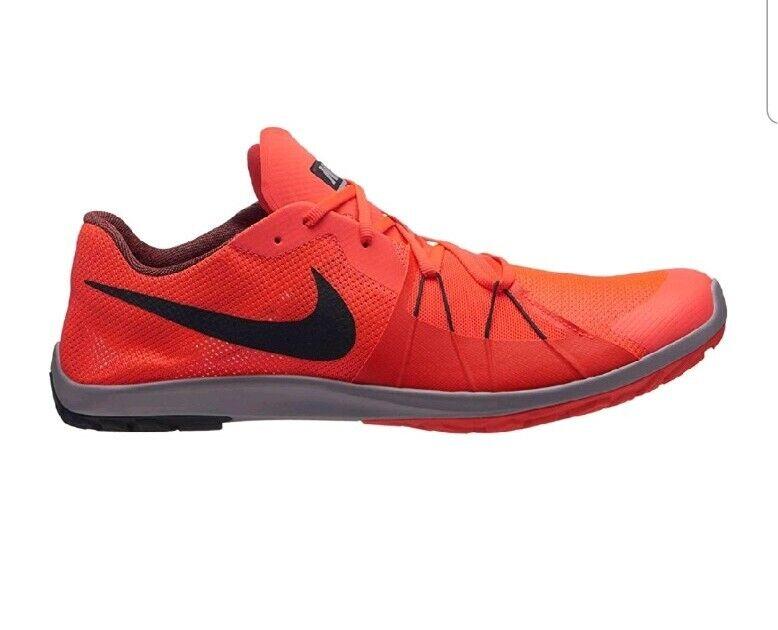 Nike Zoom Forever Waffle 5 Spikeless Running Size 11 904722-600 Flash Crimson