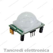 Modulo sensore PIR HC-SR501 infrarossi movimento allarme domotica arduino shield