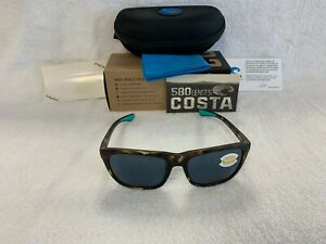f248fb91f6 NEW Costa Del Mar Cheeca Polarized Sunglasses Tortoise Gray 580P CHA ...